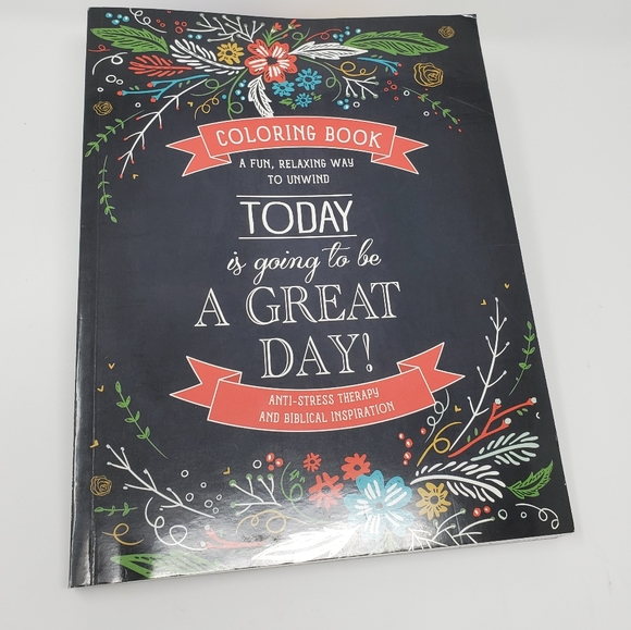 Christian Art Publishers Other - Today is Going to be a Great Day Coloring Book